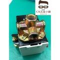 [CK五金小舖] 壓力開關 2分內牙 四孔型 空壓機專用 小型 迷你空壓機 直結式空壓機 台灣製 SP-204