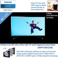 TV Time with Philips Full HD Ultra Slim LED 40inch TV with Micro Dimming feature | 40PFT5063/98