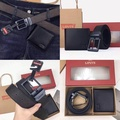 Levi's Belt and Wallet Gift Set