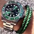 出貨前可拍實物視頻確認!!N廠 Rolex 勞力士手錶 綠水鬼腕錶勞力士黑水鬼手錶勞力士金錶勞力士金鬼藍鬼潛航者系列