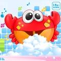 【現貨秒出】螃蟹泡泡機 洗澡沐浴音樂泡泡 抖音 兒童洗澡戲水玩具抖音 爆款玩水好夥伴螃蟹泡泡機泡澡必備瘋狂泡泡機