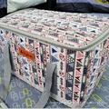 美麗大街【107013021】韓國超大型民族風裝備袋收納箱