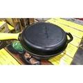 全新現貨萬用 LODGE 美國製 鑄鐵鍋三件組~露營專用萬用鍋含隔熱把手3件組(非荷蘭鍋)
