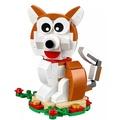 【mks】LEGO樂高積木40235節日狗年限定禮物十二生肖兒童益智玩具小狗