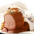 仿真嬰兒洋娃娃軟膠睡眠寶寶安撫陪睡萌娃娃女孩兒童毛絨公仔玩具