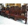 [二手傢俱] 古董實木/客廳桌椅