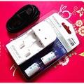 適用:CR123 /CR2 充電 Kanera MU123 Micro USB電池充電器+2顆CR2充電電池 附充電線