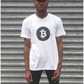 HEISEL 美國品牌 3M反光設計 Bitcoin 白/黑配色