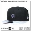 【ANGEL NEW ERA 】liberty fabric 聯名 黑 水彩帽簷 9FIFTY SNAPBACK 限量帽
