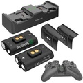 Smatree Charging Dock with 2x Rechargeable Battery Packs for Xbox One/Xbox One X/Xbox One S /Xbox One Elite Wireless Controller