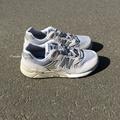 NEW BALANCE NB580 駝色 麂皮 反光 復古 休閒 慢跑鞋 MRT580GE 男女 灰