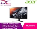 [Acer] KG271A Gaming Monitor with 144Hz Refresh Rate + 1ms Response Time