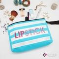 【GFSD璀璨水鑽精品】Lipstick-天空藍(Look me系列 手提萬用化妝包)