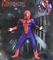 X射線【W370009】蜘蛛人 2件式肌肉裝+面罩,萬聖節服裝/化妝舞會/派對道具/兒童變裝/表演/帕克/復仇者聯盟/cosplay