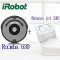 入門超值組~美國 iRobot Roomba 630+Braava Jet 240