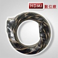 HDMI傳輸線1.4版-雙編織(10M/頭鍍金/支援3D)