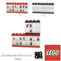 LEGO MINIFIGURE-DISPLAYCASE16(8KNOB)Bright Red/Black Lego小花式滑水陳列櫃16/ROOM COPENHAGEN/Storage/16身體收藏 PARTS SHOP 4U