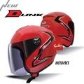 INDEX หมวกกันน็อค DUNK สีแดง