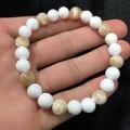 ⚛️紫蘭閣⚛️-黃金、白雪硨磲手珠