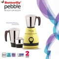 Butterfly Pebble 600-Watt Mixer Grinder with 3 Jars -  ( 2 Years Warranty )