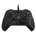 ALLCACA XBOX ONE Wired Controller USB Gaming Controllers Premium Gamepads for XBOX ONE / XBOX ONE S / XBOX ONE X / PC, Black