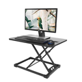Alighttone MD03 Modern Simple Adjustable Height Desk Sit Stand Dual-use Desk Foldable Office Desk Riser Notebook Laptop Stand Notebook Monitor Holder