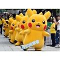 皮卡丘玩偶裝Pokemon GO/精靈寶可夢 GO/神奇寶貝/皮卡丘 人偶服 皮卡丘演出服 舞臺服 舞臺裝