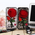 VIVO Y85、Y71 Lace Rose embroidery case cover