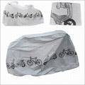【自行車防塵罩-滌綸-100*210cm-1套/組】山地公路自行車摩托車電動車單車防塵防雨罩罩-527058