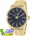 [105美國直購] Nixon Men's 男士手錶 Sentry 38 A4501604 Gold Stainless-Steel Quartz Watch