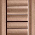 【貝力地板】太陽神DIY塑木止滑踏板 (30 x 30cm - 棕色H型 - 9片/箱)