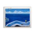 ◎『佳家畫廊』→白色框-雷諾瓦-幾米海之灣500拼圖-立體獅子裱範例◎拼圖框訂做