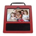 Protective Case for Echo Show,Leather Case for Echo Show - Optimal protection and Premium Leather - Red