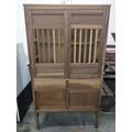 【吉林二手貨C0300001】桃園 全新中古傢俱 古董家具買賣 檜木菜櫥 檜木收納櫃