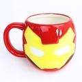 X射線【C248248】Marvel 復仇者聯盟 造型馬克杯270ml-鋼鐵人 IronMan,水杯/馬克杯/杯瓶/茶具/生活用品/玻璃杯/不鏽鋼杯