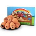 ++ 小型犬建議++搞笑表情彈力雞蛋球玩具-小樂寵