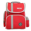 【DEZO迪諾】立體護脊書包 共4色可選紅色