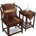 亞星中式椅墊餐椅坐墊皇宮椅太師椅靠背實木海綿椅子紅木沙發坐墊
