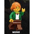 【台中翔智積木】LEGO 樂高 忍者城 70620 Misako (njo340)