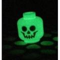 土城 公主樂糕殿 LEGO 9468 10228 夜光 骷髏頭 臉 頭 3626cpb0770 (A-267)