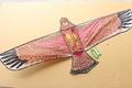 特大老鷹風箏 老鷹造型風箏/一支入{定180} 立體老鷹風箏 (特大立體布面碳纖維架162cm x 78cm)~3608A