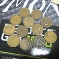 民國43年五角硬幣錢幣