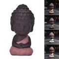 Cute small buddha statue monk figurine tathagata India Yoga Mandala Sculptures Original flavor Buddha - intl