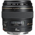 Canon EF 85mm f/1.8 USM Medium Telephoto Lens for Canon SLR Cameras - Fixed - intl