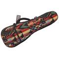 26 Inch Woven Cotton Tenor Ukulele Padded Guitar Gig Bag Ukulele Case Carry Bag