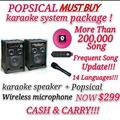 Popsical Full karaoke package