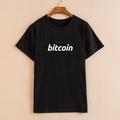 以太坊ethereum極客愛好者eth比特幣BitCoin創意趣味T恤 男士上衣
