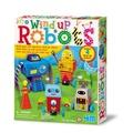 【4M】美勞創作系列 - 機器人樂園 Wind Up Robots 00-04655