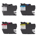 Inkjet Printer Ink Genuine Brother LC3029 (LC-3029) (BK/C/M/Y) Super High Yield Color Ink 4-Pack (Includes 1 each LC3029BK, LC3029C, LC3029M, LC3029Y) - intl