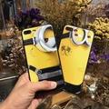 現貨 i6 i6s i6plus i7 i7plus 小小兵 立體浮雕手機殼 軟殼 蘋果 可掛繩 手機保護殼 全包手機套【GP美貼】